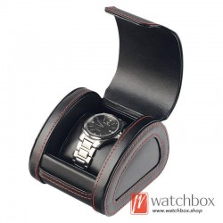 high quality PU leather single watch case storage travel gift box
