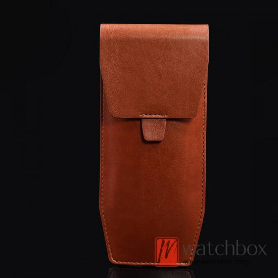high quality leather watch storage travel box bag