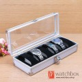 Aluminum watch box