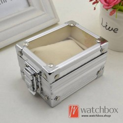 single watch case storage display aluminum alloy box