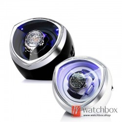 Premium Automatic Rotate LED Light Mechanical Watch Winder Gift Boxes 1+0