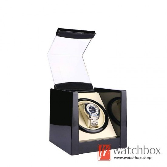 Premium Automatic Rotate Single Mechanical Watch Winder Case Storage Display Box