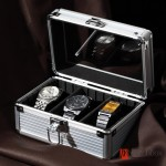 Aluminum watch box