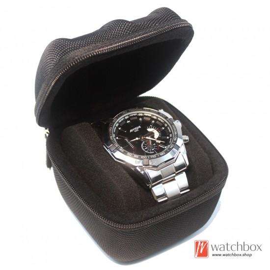 5/3/2/1 slots professional portable watch storage travel case box bag
