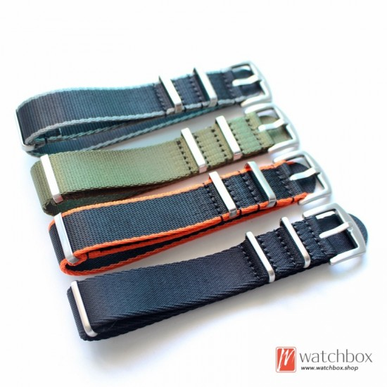 weave nylon nato belt watch strap watchband for brand watches