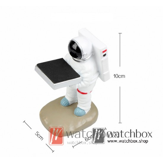 Original creative astronaut watch gift shop display stand holder