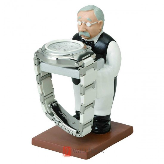 The watch stand grandfather old housekeeper butler watch display stand holder gift decoration