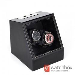 high grade auto rotate shake mechanical watch winder storage box 2+0