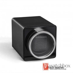 high grade small single auto rotate mechanical watch winder storage shake box