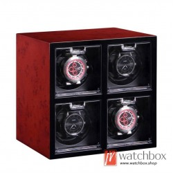 high grade auto shake rotate mechanical watch winder storage case display box 4+0