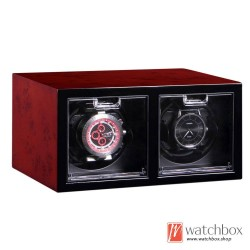 high grade auto shake rotate mechanical watch winder storage case display box 2+0