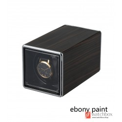 New square single imitation hand auto rotate wind-up mechanical watch winder case storage shake box